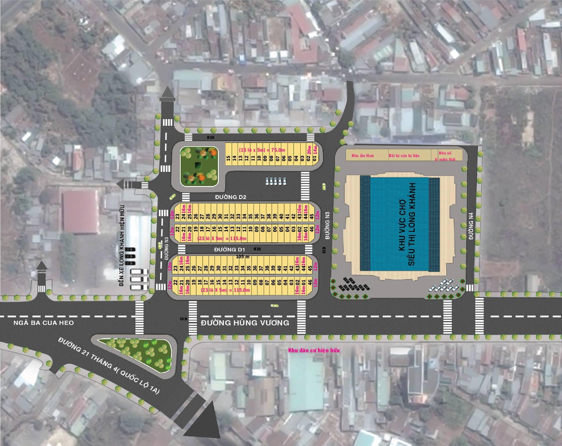Nhà liên kế thương mại Long Khánh, thị xã Long Khánh, tỉnh Đồng Nai