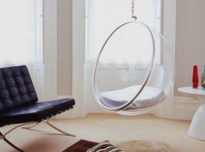 Cách trang trí xích đu trong thiết kế nội thất